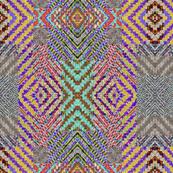 herringbone collage 1 mirrored