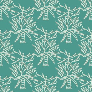 Mountain Agave in Blue