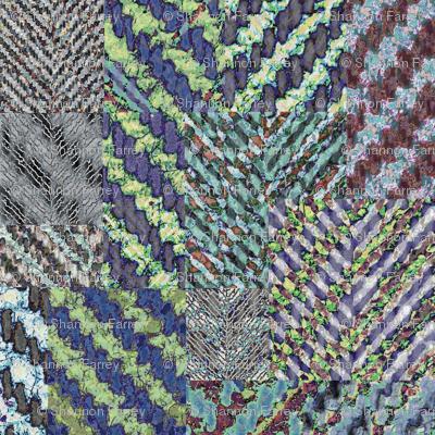 herringbone collage 3 mirrored