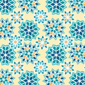 Marrakesh Sunset Collection - Tile Blue