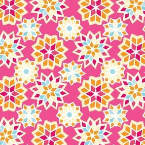 Marrakesh Sunset Collection - Tile Pink
