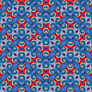 Red White & Blue Zigzag