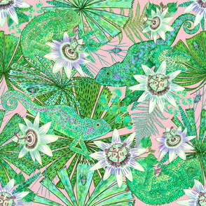 Emerald Canopy for Emerald Chameleon (pink)