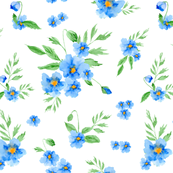 Blue Poppies  (320)