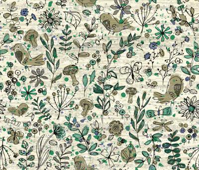 Emerald Forest Field Journal - Cream