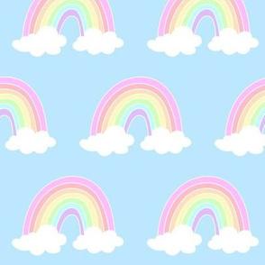 Sky Blue Rainbow