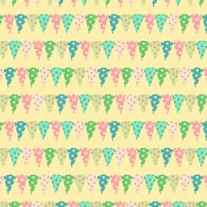 Speckled Birthday Banners