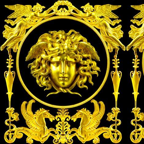 Rspoonflower-clock-medusa-horses-gold_shop_preview