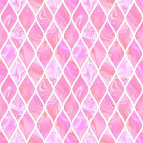 Pink marble scales