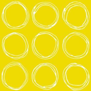 Circles (mustard)