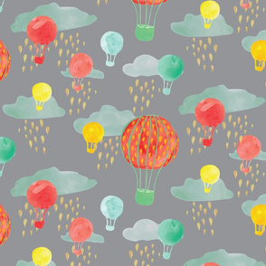 baloons in rainclouds on grey-01