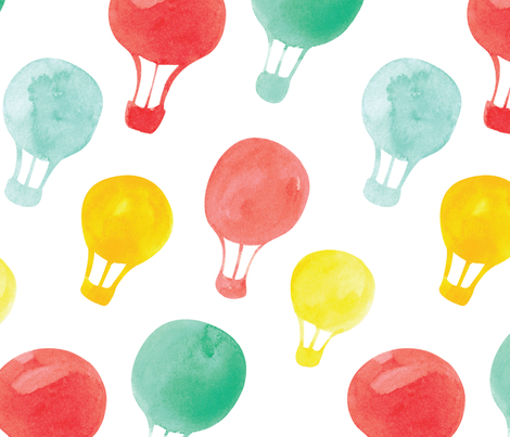 baloons-01 fabric by stargazingseamstress on Spoonflower - custom fabric
