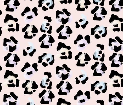 animalprint pink fabric by anines_atelier on Spoonflower - custom fabric