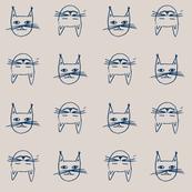 cat, baby girl, baby boy, boy, girl, face, hand-drawn, illustration, animals, pets, browns, tan, beige, sand, grafics,
