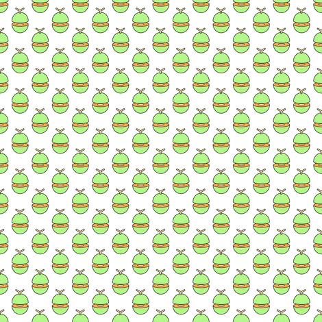 Melon fabric by catbaconcreative on Spoonflower - custom fabric