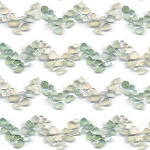 Sea glass - Chevron Vs