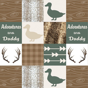 Adventures with daddy - hides, ducks and bucks