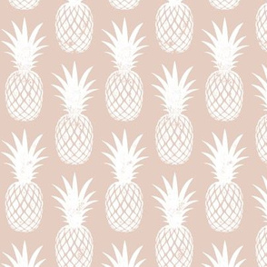pineapples on blush
