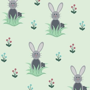 Oatmeal the Bunny (Spring)
