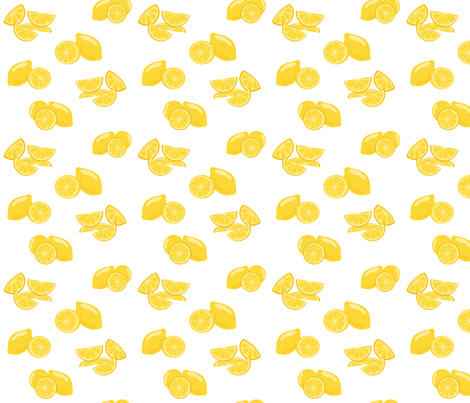 Leah Lemon fabric by crystal_whitlow on Spoonflower - custom fabric