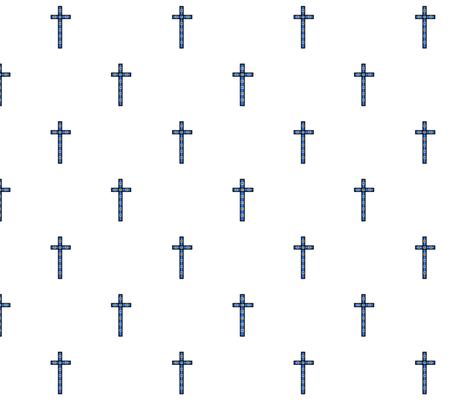 cross2 fabric by angelheartdesigns on Spoonflower - custom fabric