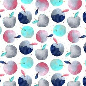 Festive apples white