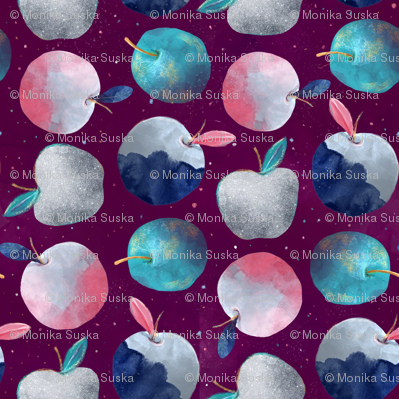 Festive apples