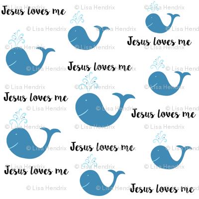 Jesus Loves me-Whales