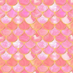 pink mermaid scales