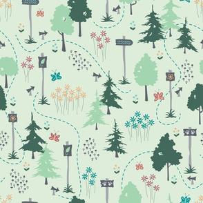 Woodland Trails (Spring)