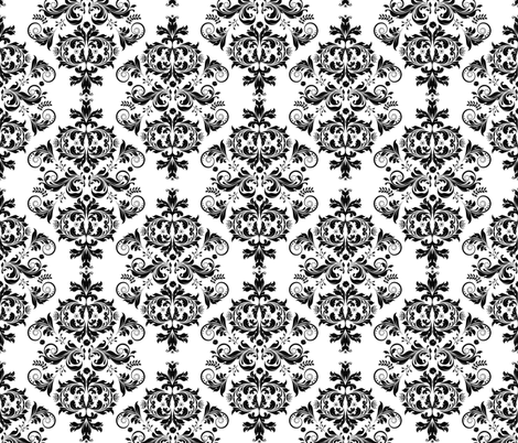 Baroque Ornament Pattern fabric by andrea_haase_design on Spoonflower - custom fabric