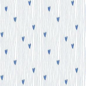 blue mini stripes