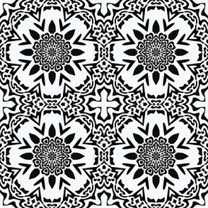 Oriental Black And White
