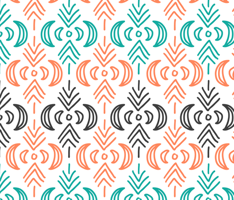 boho style fabric by yashroom on Spoonflower - custom fabric
