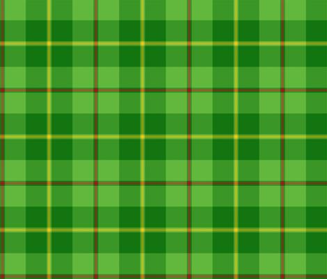 "Galloway hunting tartan - 6"" bright, yellow line fabric by weavingmajor on Spoonflower - custom fabric"