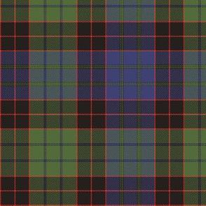 """1819 Stewart old clan tartan, 6"""", Wilsons colors"""