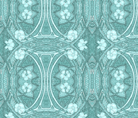 Whispers of Newly Commissioned Ghosts fabric by edsel2084 on Spoonflower - custom fabric