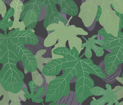 Hidden figs fabric by lucyconway on Spoonflower - custom fabric