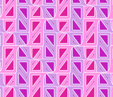 rekt-angle in pink fabric by hannafate on Spoonflower - custom fabric