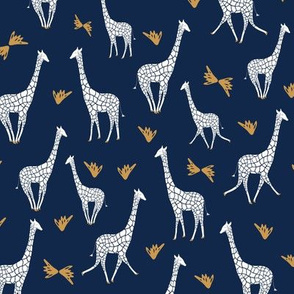 Tower of Giraffes - Navy