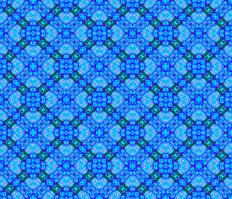 Rich Blue Splash Diamonds fabric by just_meewowy_design on Spoonflower - custom fabric