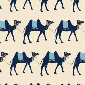 Train of Camels - Cream