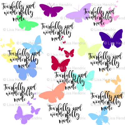 fearfully made butterflies