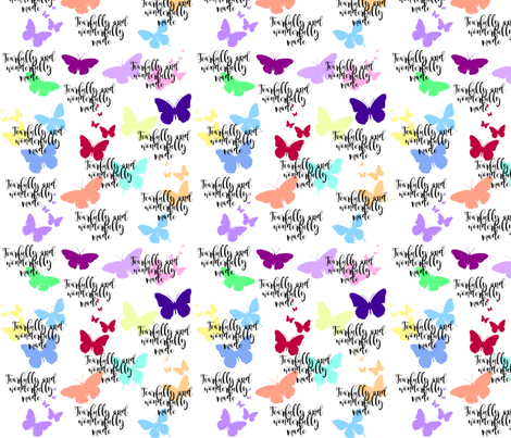 fearfully made butterflies fabric by lisa_hendrix_designs on Spoonflower - custom fabric