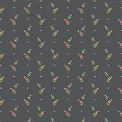 Hollyhock Dots Gray