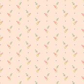 Hollyhock Dots Pink