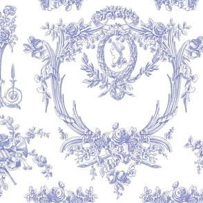 Marie Toile blue violet 1