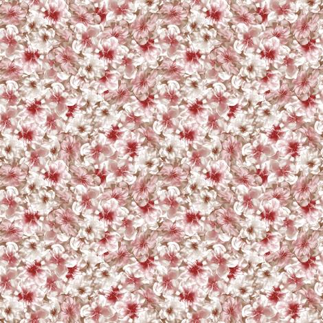 CHERRY TREE! BLOSSOM  fabric by gasponce on Spoonflower - custom fabric
