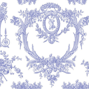 Marie Toile blue violet 2