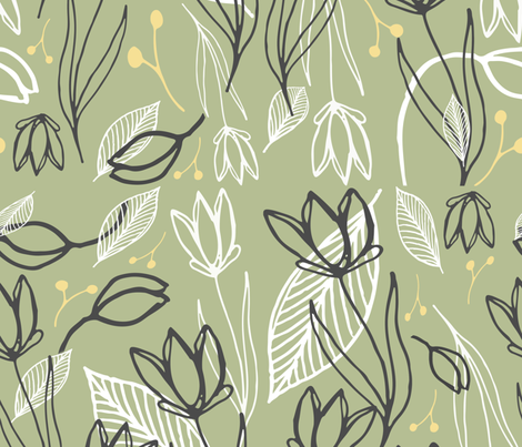 Lemonade III fabric by dawn_leblanc on Spoonflower - custom fabric